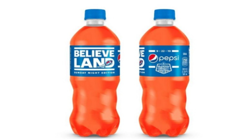 Pepsi Unveiling Browns-Themed Bottles For Sunday Night Game In Cleveland