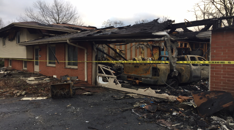Findlay House Destroyed In Fire