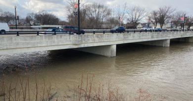 New Flood Stages In Effect For Blanchard River In Findlay